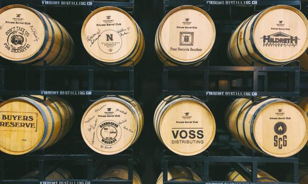 Foundry Distilling Company's Private Barrel Program Becoming Big Hit