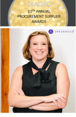 The Spearhead Group Wins 2020 Award for Diversity Excellence from Diageo