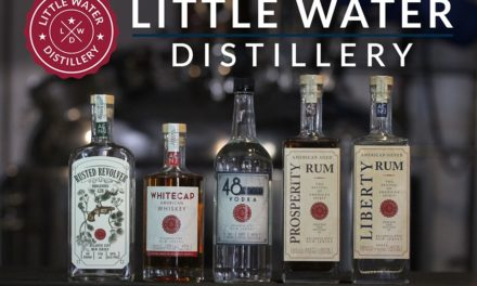 Little Water Distillery of Atlantic City, NJ Announces New York and Connecticut Distribution