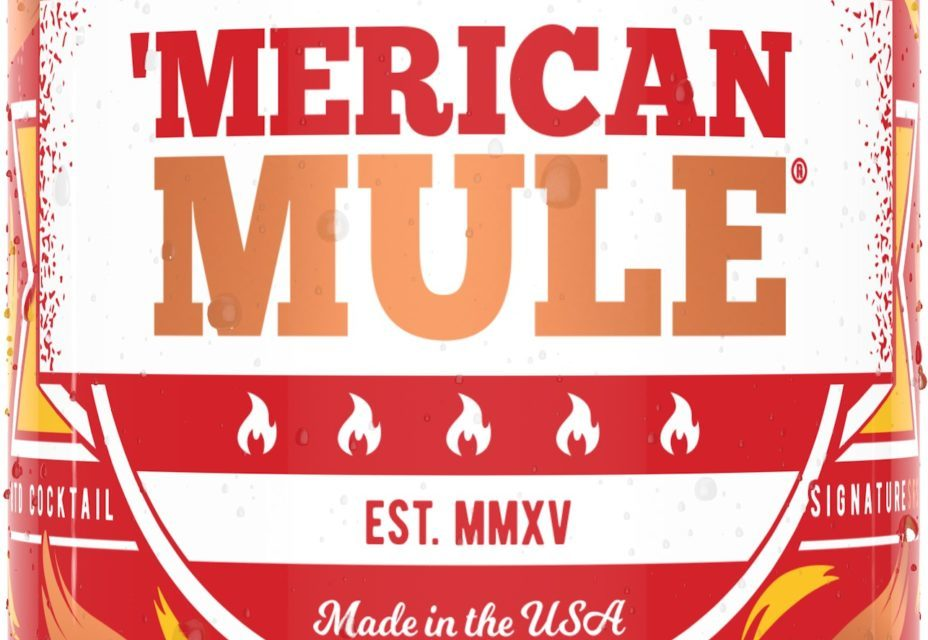 Premium Canned Moscow Mule Brand 'Merican Mule Is Bringing the Heat With New Canned Cocktail, Fire Mule