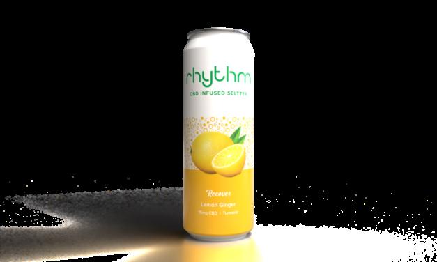 Rhythm CBD Seltzers Launches Third Beverage Variety, Rhythm Recover