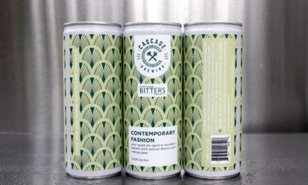 Cascade Brewing collaborates with Portland Bitters Project, releases Contemporary Fashion in 250 ml. slim cans
