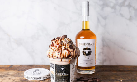 Skrewball Peanut Butter Whiskey and Tipsy Scoop Liquor-infused Ice Cream Team Up on Limited Edition Peanut Butter Chocolate Swirl Whiskey Ice Cream